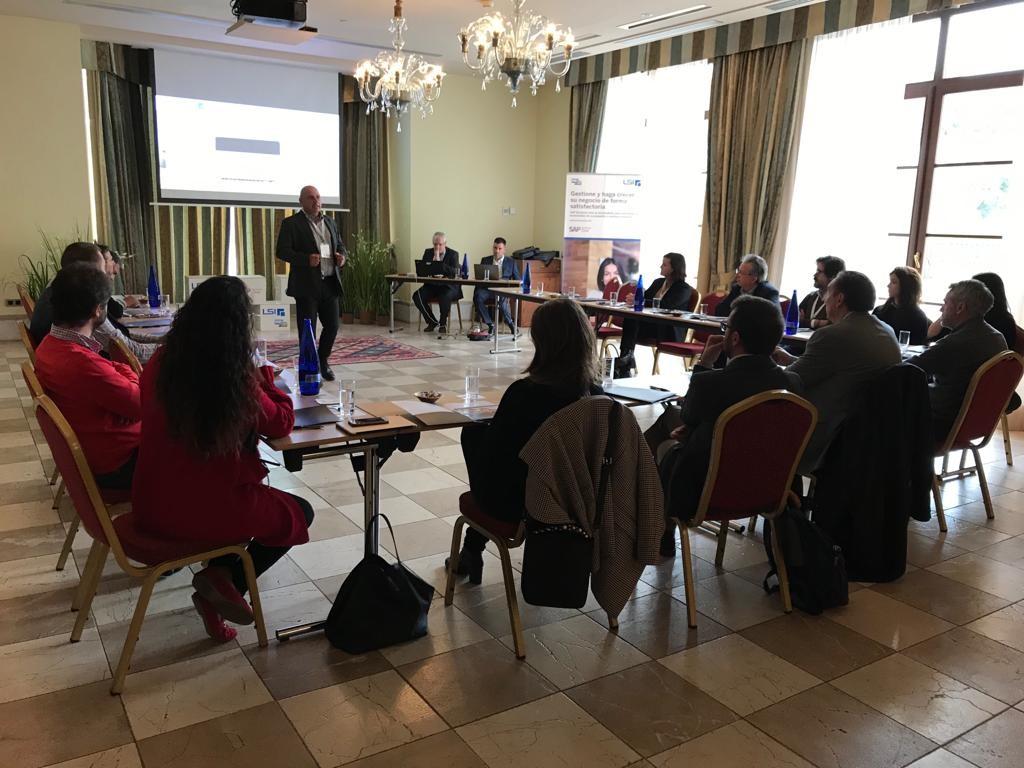 Conferecia SAP en Mallorca 2019