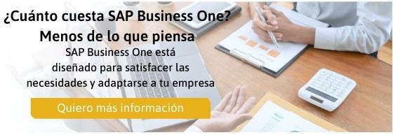 ¿Cuánto cuesta SAP Business One_ Menos de lo que piensa
