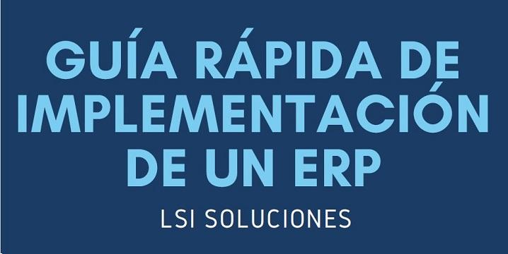 Guía rápida de cómo es una implementación de ERP